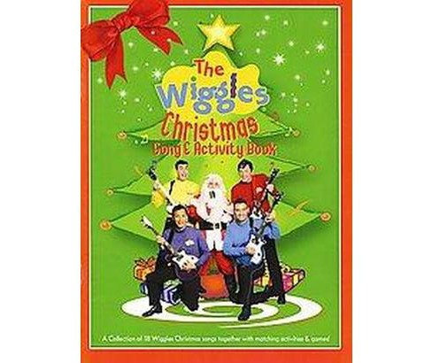 Wiggles Christmas Song & Activity Book (Paperback) (Dominic  Lindsay) - image 1 of 1