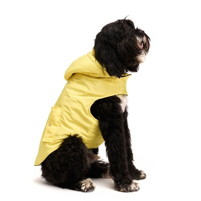 Royal Animals Dog and Cat Coat with Removable Hood - Yellow - S
