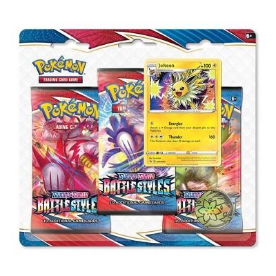 Pokemon Trading Card Game Sword Shield S5 Battle Styles 3pk - Jolteon