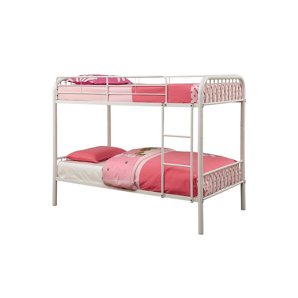 Dunphy Kids Bunk Bed White - Homes: Inside + Out