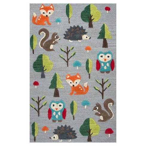 Gray Forest Area Rug (3'x5') - Rizzy Home - image 1 of 3