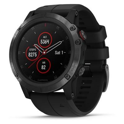 Garmin fenix 5X Plus Sapphire Watch - Black