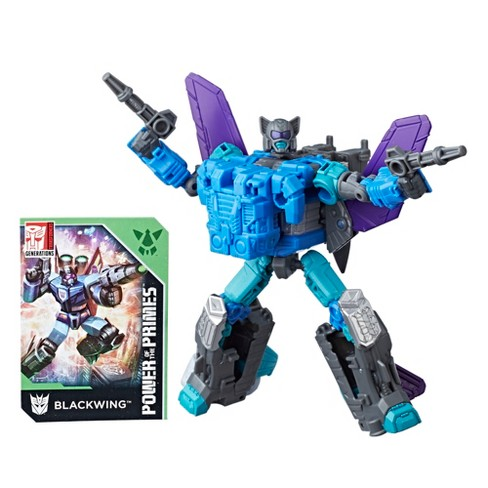 Transformers Generations Power of the Primes Deluxe Class Blackwing - image 1 of 4