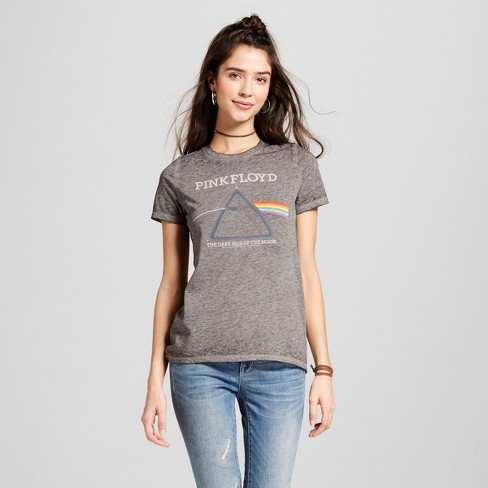 Women's Pink Floyd® Graphic T-Shirt Black (Juniors') - image 1 of 2