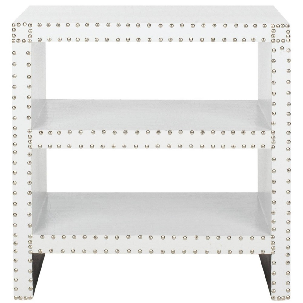 Lacey Side Table White - Safavieh