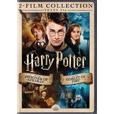Harry Potter and the Prisoner of Azkaban/Goblet of Fire DBFE (DVD)
