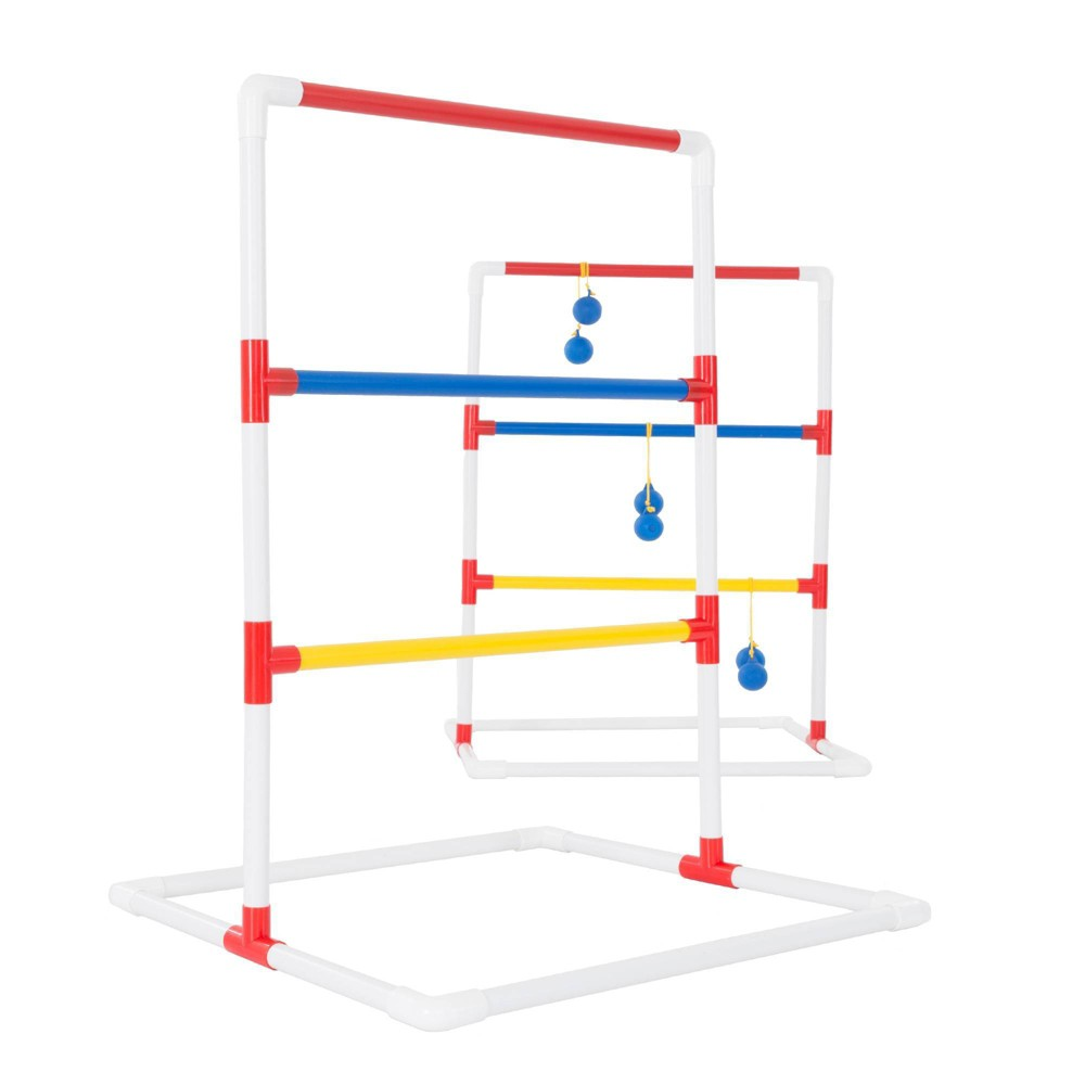 Image of Hey! Play! Ladder Toss Outdoor Roundnet Game Set