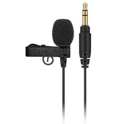 Rode Microphones Lavalier GO Professional-Grade Microphone, 3.5mm TRS Connector