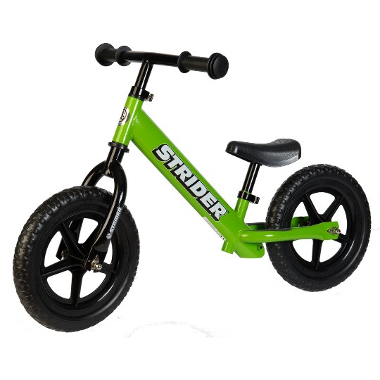 STRIDER 12 Classic Balance Bike For 18 mos. - 3+ years, Kids Unisex, Green image number null