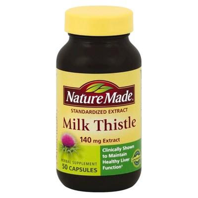 Vitamins & Supplements: Nature Made Milk Thistle