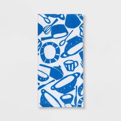 Kitchen Towel Blue White - Room Essentials™
