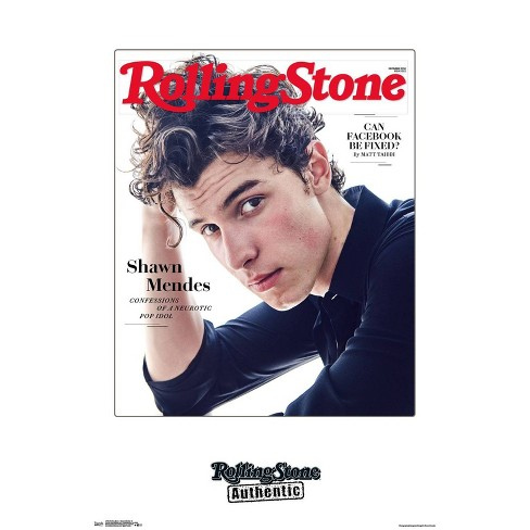 """34""""x23"""" Rolling Stone Shawn Mendes Unframed Wall Poster Print - Trends International - image 1 of 2"""
