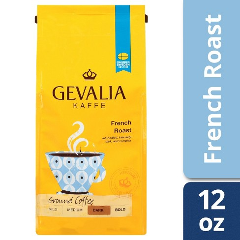 Gevalia French Dark Roast Ground Coffee - 12oz - image 1 of 4