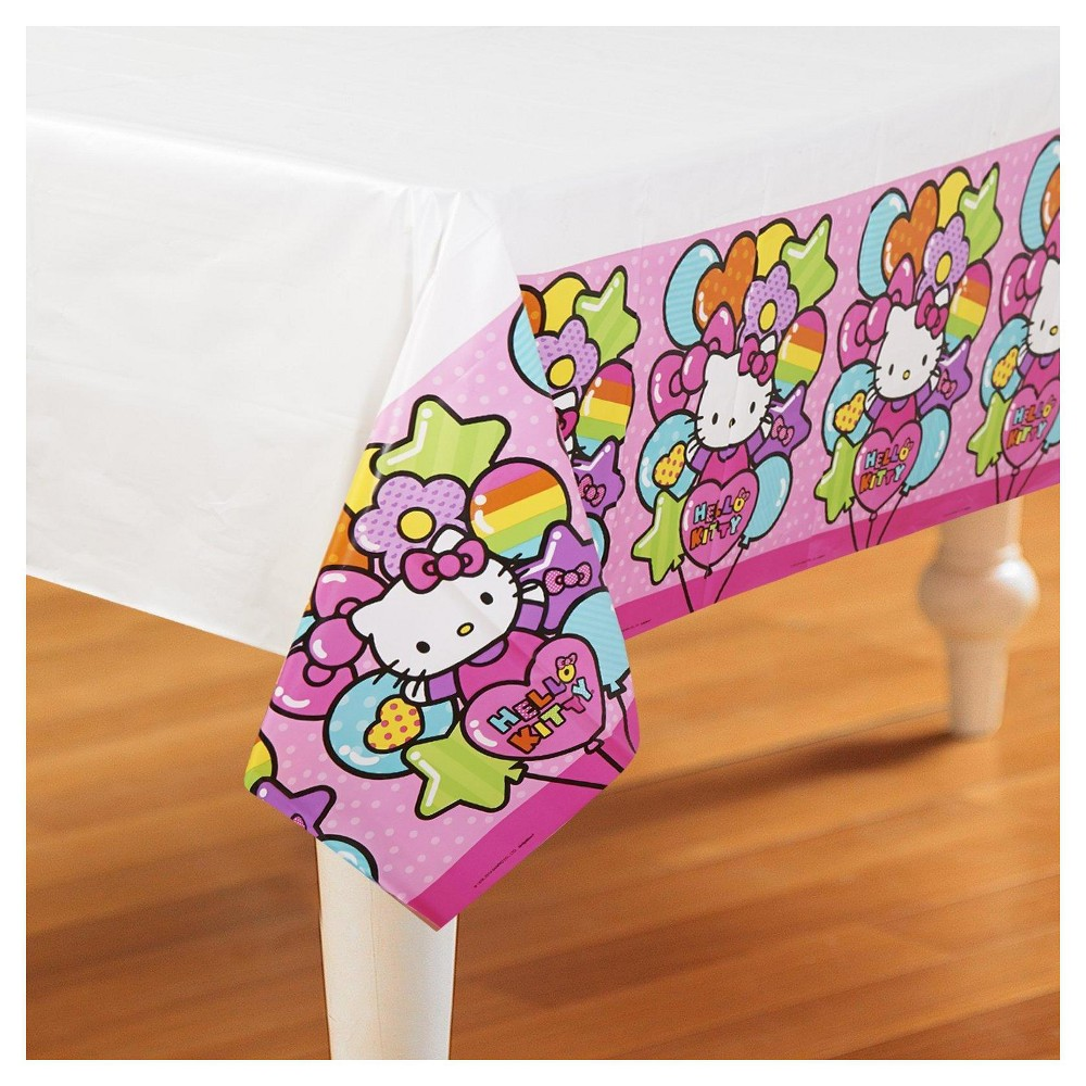 Image of Hello Kitt Rainbow Table Cover