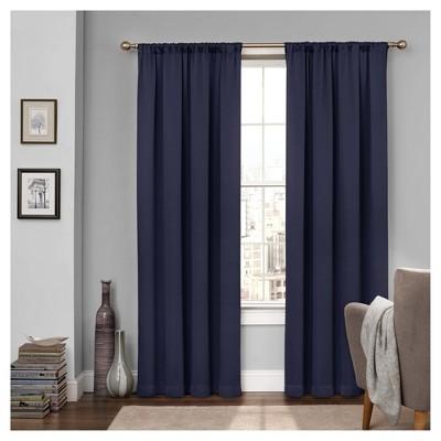 Tricia Room Darkening Curtain Navy (52 x84 )- Eclipse™