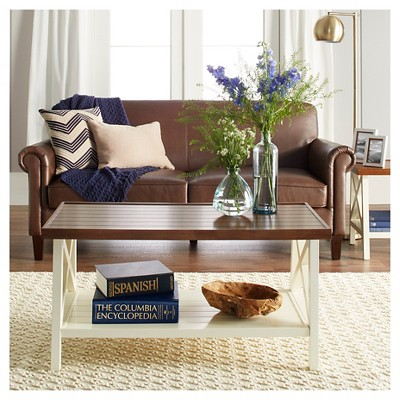 Superbe Larkspur Coffee Table   Off White : Target