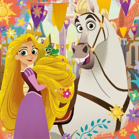 Ravensburger Tangled TV Series Puzzles 147pc, Kids Unisex image number null
