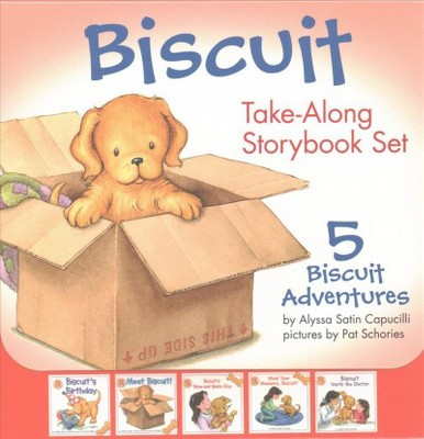 Biscuit Take-along Storybook Set : 5 Biscuit Adventures (Combined)(Paperback)(Alyssa Satin Capucilli)
