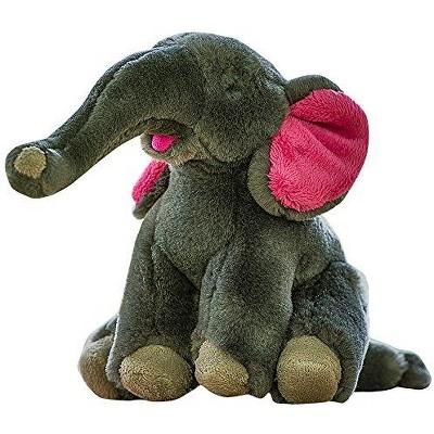Fluff & Tuff Edsel the Elephant, Large Plush Dog Toy with Squeaker