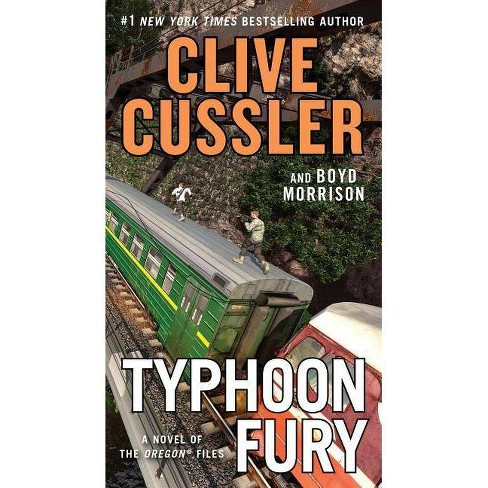 Typhoon Fury - (Oregon Files) by  Clive Cussler & Boyd Morrison (Paperback) - image 1 of 1