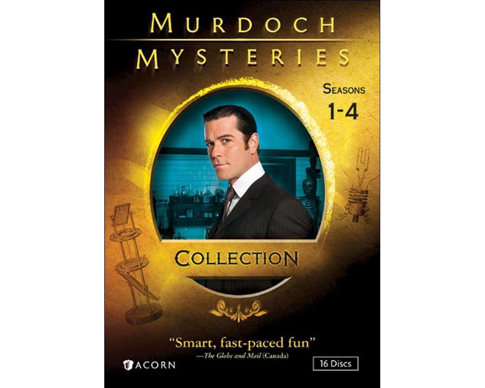 Murdoch mysteries collection:Ssns 1-4 (Dvd)