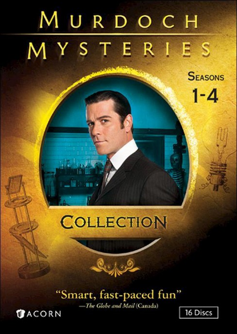 Murdoch mysteries collection:Ssns 1-4 (DVD) - image 1 of 1
