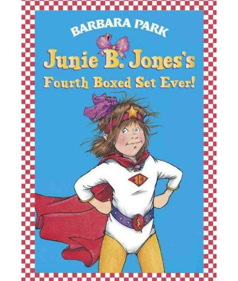 Junie B. Jones's Fourth Boxed Set Ever! ( Junie B. Jones) (Paperback) by Barbara Park - image 1 of 1