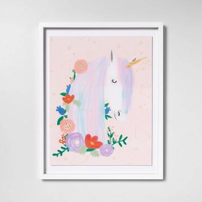 """16""""x20"""" Unicorn Framed Wall Art - Pillowfort™"""