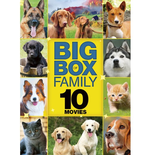 10 Movie Big Box Family:Vol 3 (DVD) - image 1 of 1