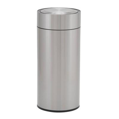 Household Essentials 30L Round Design Trend Sensor Trash Bin Stainless Steel