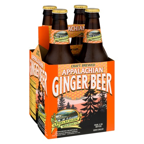 Appalachian Ginger Beer - 4pk/12 fl oz Glass Bottles - image 1 of 1