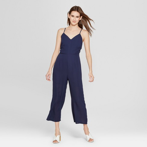 2eaa7fe0a1e Women s Strappy Jumpsuit - clair Navy   Target