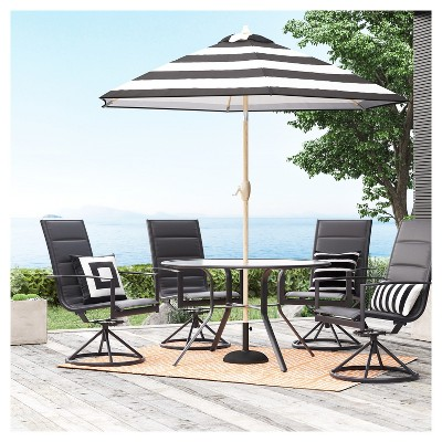 Avalon 5pc Sling U0026 Steel Patio Dining Set   Project 62™