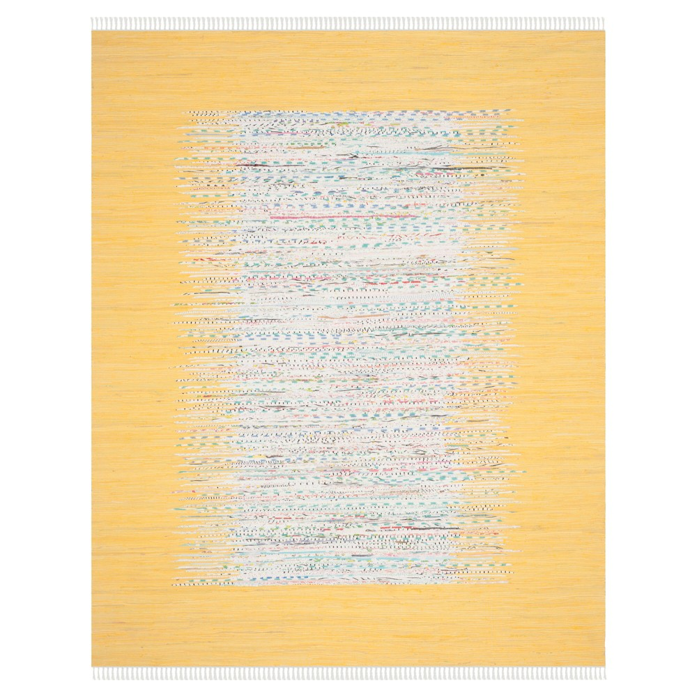 Bettina Flatweave Area Rug - Ivory / Yellow (8' X 10') - Safavieh