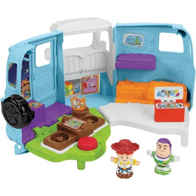 Fisher-Price Little People Disney Pixar Toy Story 4 Jessies Campground Adventure Playset