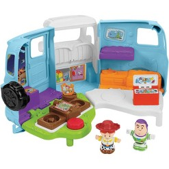 Fisher-Price Little People Disney Pixar Toy Story 4 Jessie's Campground Adventure Playset