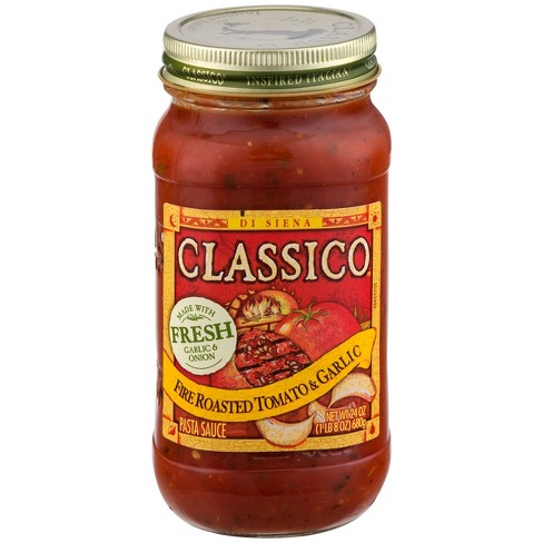 Classico Fire Roasted Tomato & Garlic Pasta Sauce - 24oz - image 1 of 4