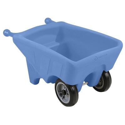 Wesco Toddler Sized Small Wheelbarrow in Blue
