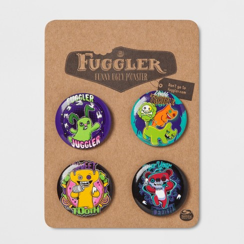 Fuggler 4pk Buttons - image 1 of 1
