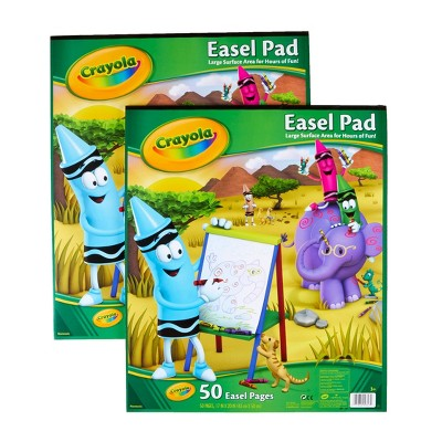 Crayola 2pk 50 Page Easel Pads