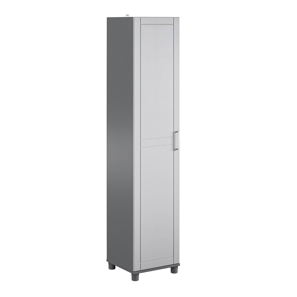 "Image of ""16"""" Welby Utility Storage Cabinet Gray - Room & Joy"""