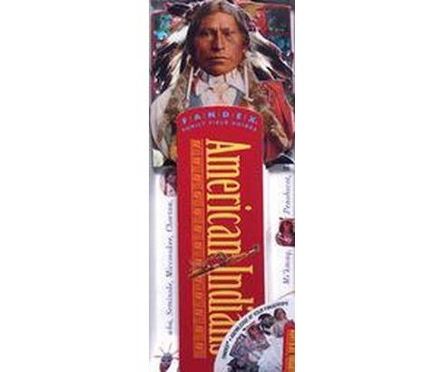 American Indians : Fandex Family Field Guides (Hardcover) - image 1 of 1