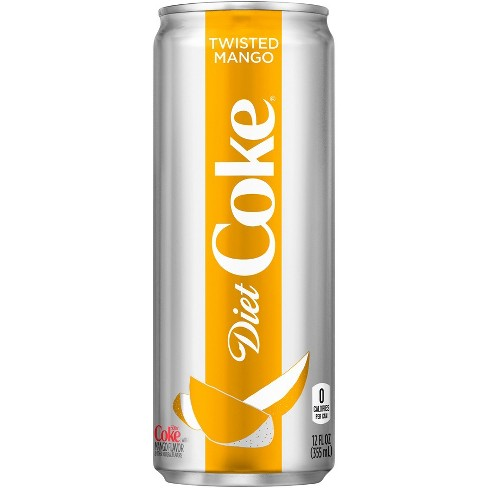 Image result for twisted mango diet coke