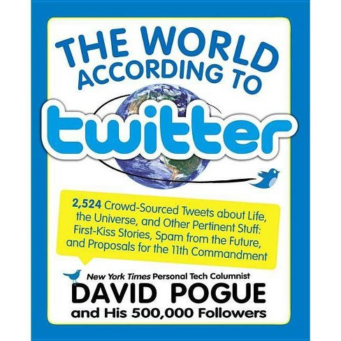 World According to Twitter - by  David Pogue (Paperback) - image 1 of 1