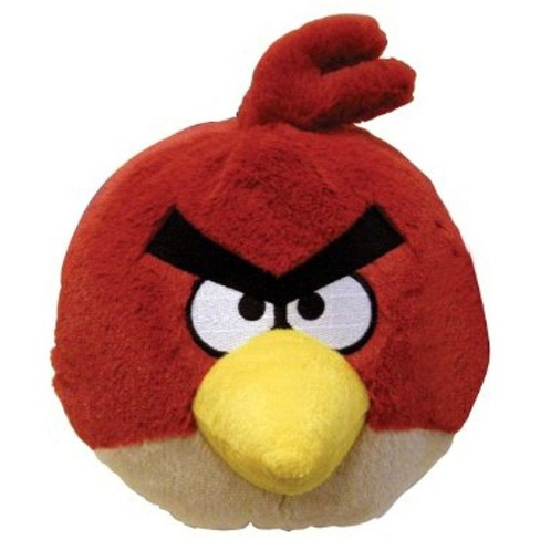 """Commonwealth Toys Angry Birds 16"""" Deluxe Plush: Red Bird - image 1 of 1"""