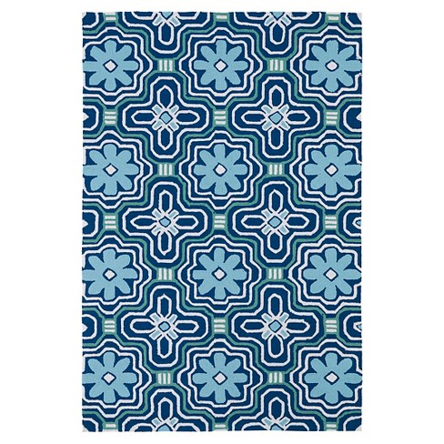 Rugs 3'X5' Kaleen Rugs Blue - image 1 of 3