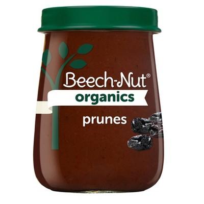 Beech-Nut Organics Prunes Baby Food Jar - 4oz