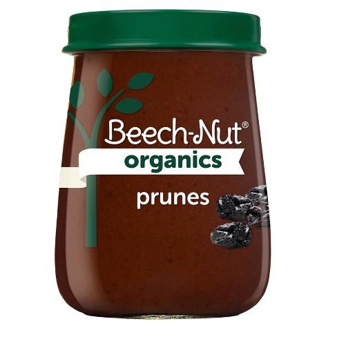 Beech-Nut Organics Prunes Baby Food Jar - 4oz - image 1 of 4
