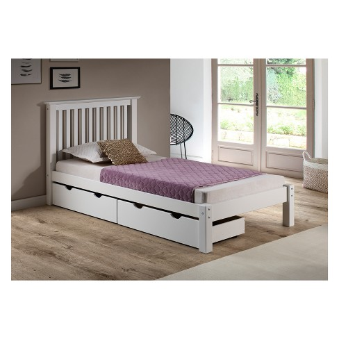 Barcelona Twin Bed With Storage Drawers Bolton Furniture Target