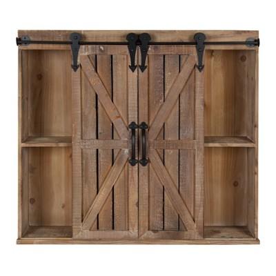 Wall Shelf Farmhouse - Brown